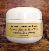 HERBAL POWER PEEL Pigment Blaster Skin Wash 1oz/30gms